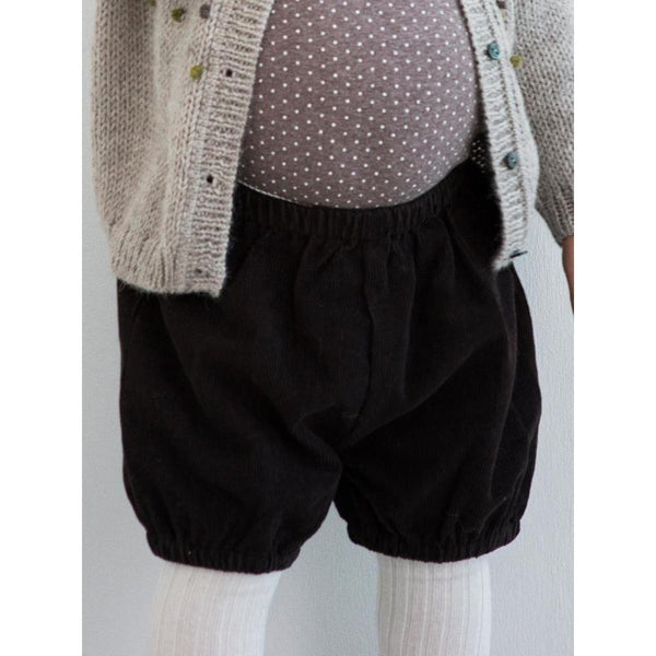 Serendipity Organics Corduroy Bloomers - Dark Brown