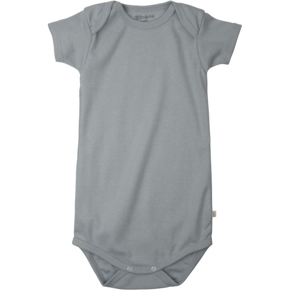 Minimalisma Organic Cotton Nea Baby Body - Powder Blue