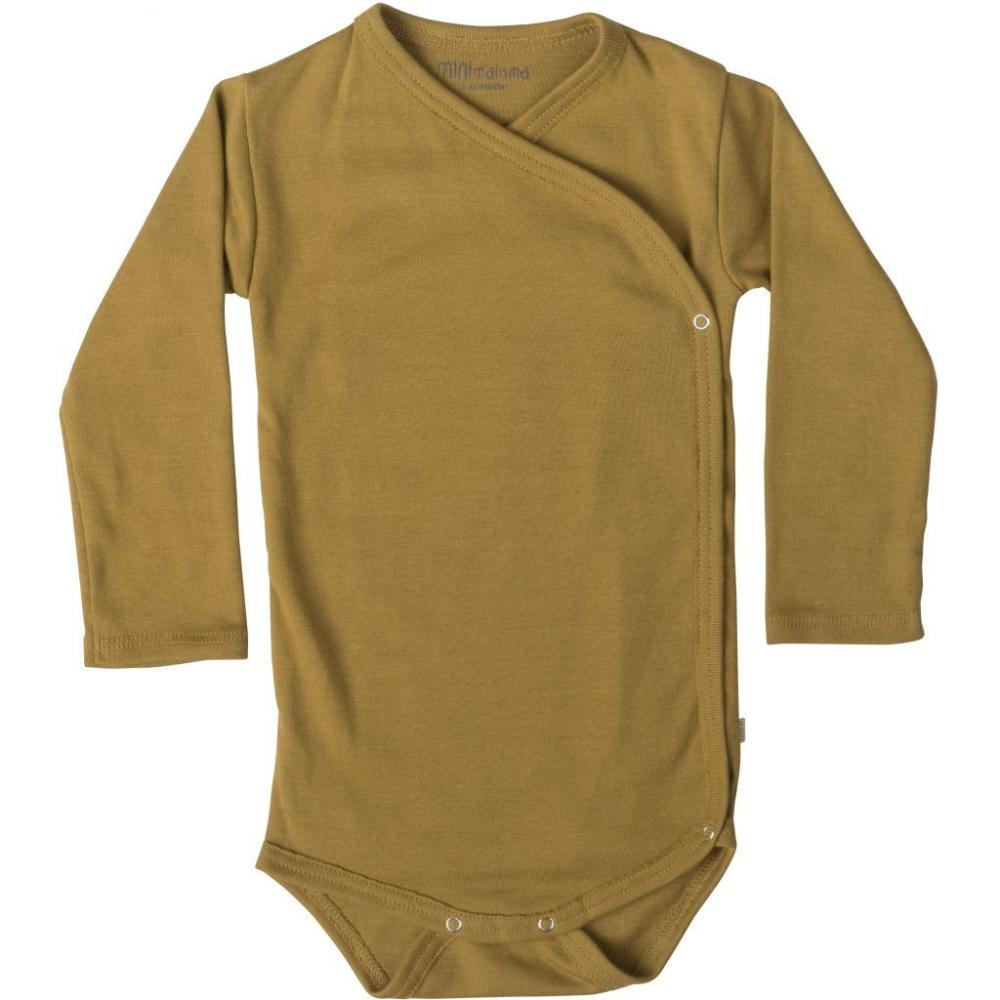 Organic Cotton Morris Baby Body - Golden Leaf