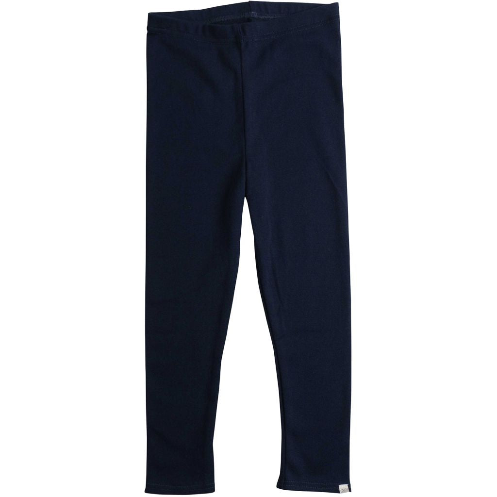 Organic Cotton Nice Leggings - Dark Blue