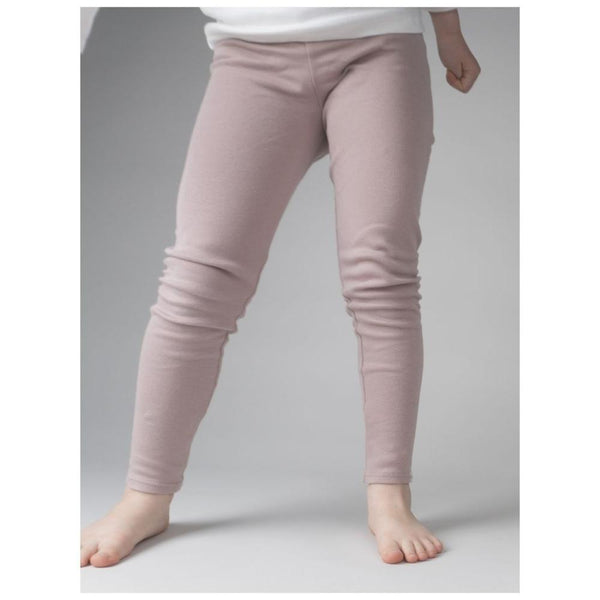 Organic Cotton Nice Leggings - Dusty Rose
