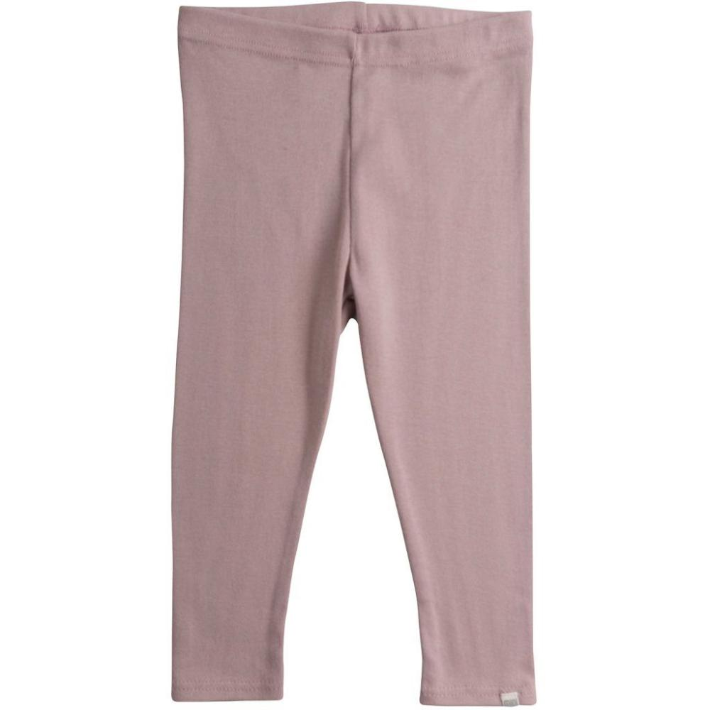 Minimalisma Organic Cotton Nice Leggings - Dusty Rose (0-6y)