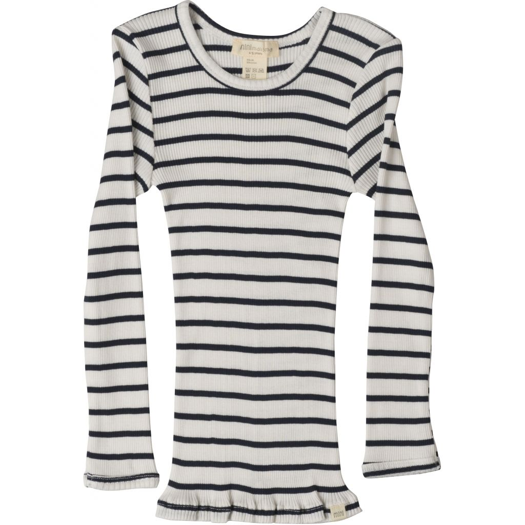 Silk/Cotton Bergen LS Top - Sailor (2-11y)