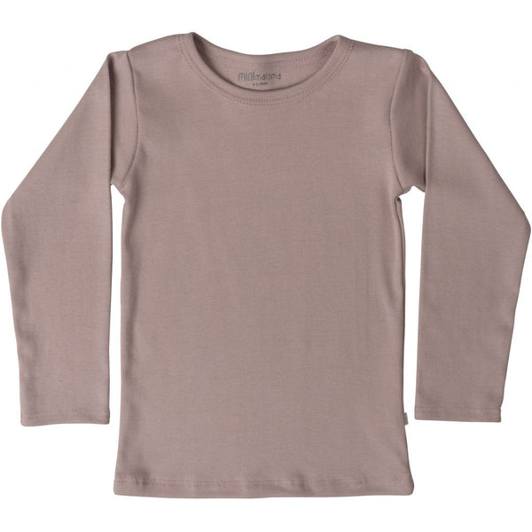 Organic Cotton Nimbus LS Tee - Dusty Rose