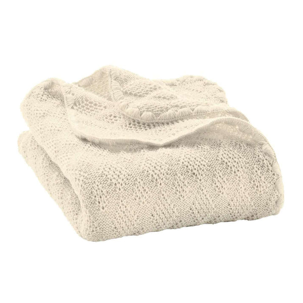 Disana Organic Merino Wool Baby Blanket - Natural