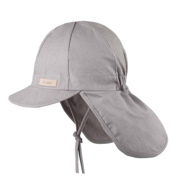 Organic Cotton Sun Protection Hat - Grey