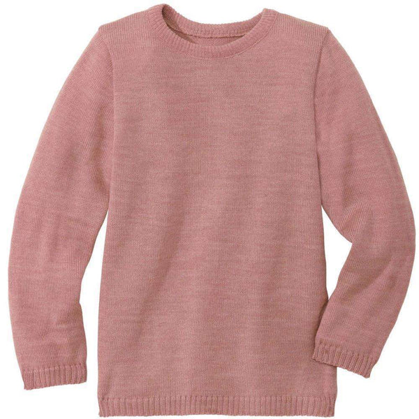 Disana Organic Merino Jumper - Rose (size 2 & 4 left)