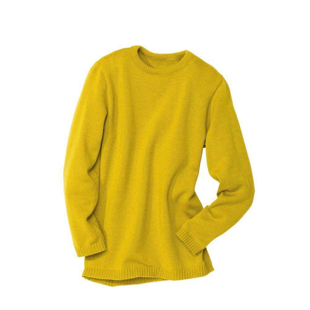 351c7d4095a0 Disana Organic Merino Jumper - Curry – Slow Threads