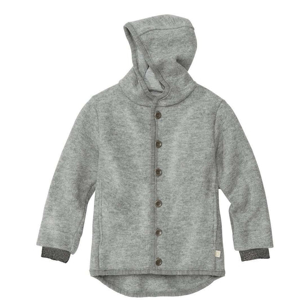 Boiled Wool Jacket - Grey