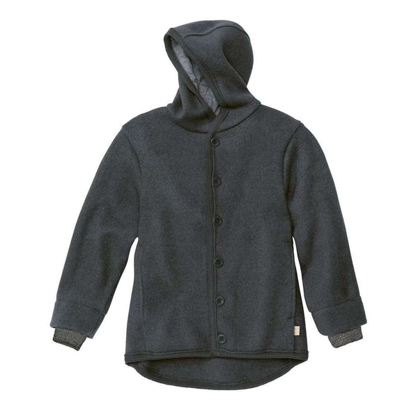 Boiled Wool Jacket - Anthracite