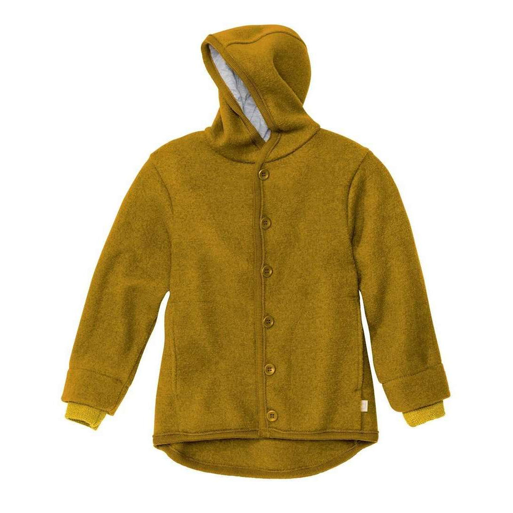 Boiled Wool Jacket - Gold