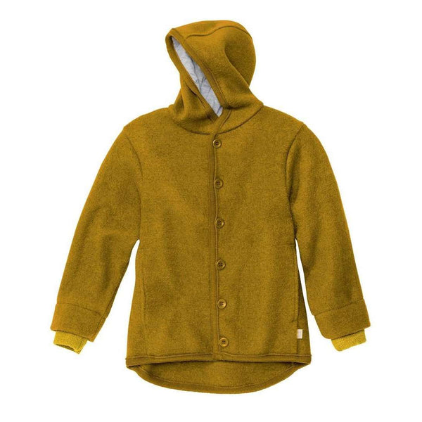 New Style Boiled Wool Jacket - Gold
