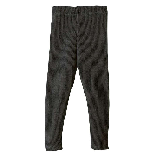 Organic Merino Leggings - Anthracite