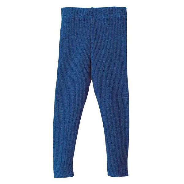 Organic Merino Leggings - Navy