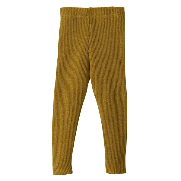 Organic Merino Leggings - Gold