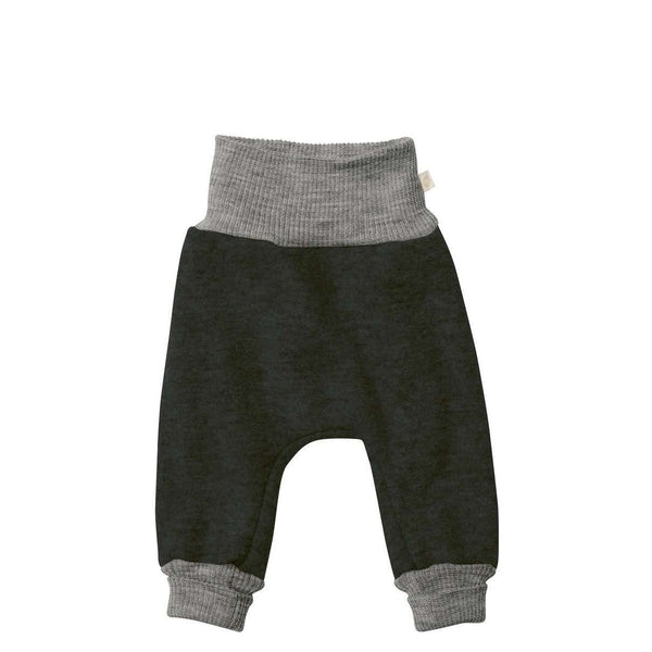Boiled Wool Bloomer Pants - Anthracite