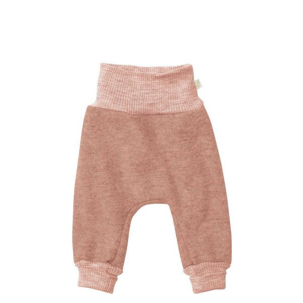 Boiled Wool Bloomer Pants - Rose