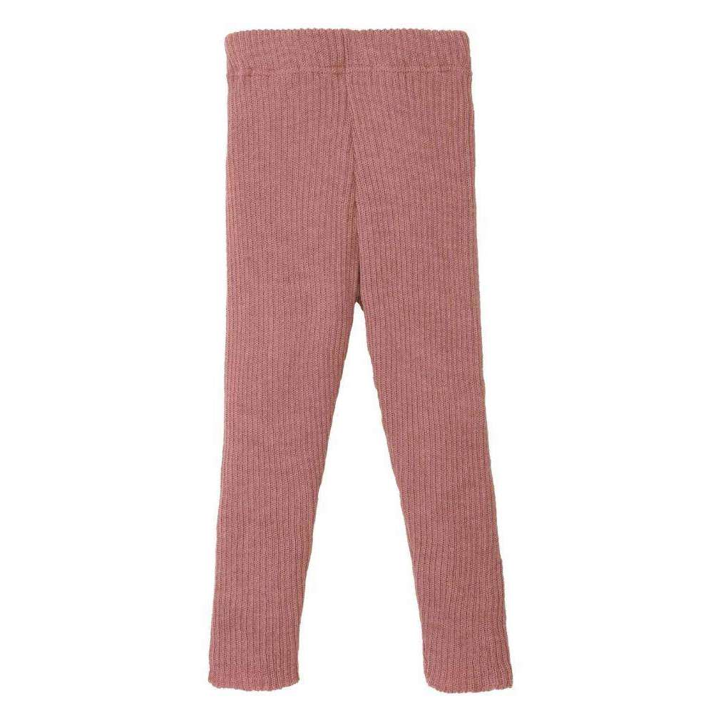 Organic Merino Leggings - Rose