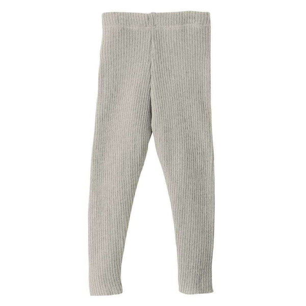Organic Merino Leggings - Grey