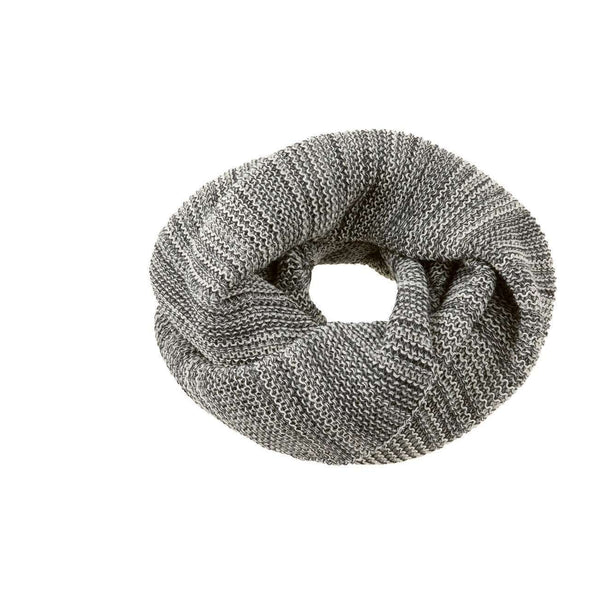Organic Merino Adult Loop Scarf - Anthracite