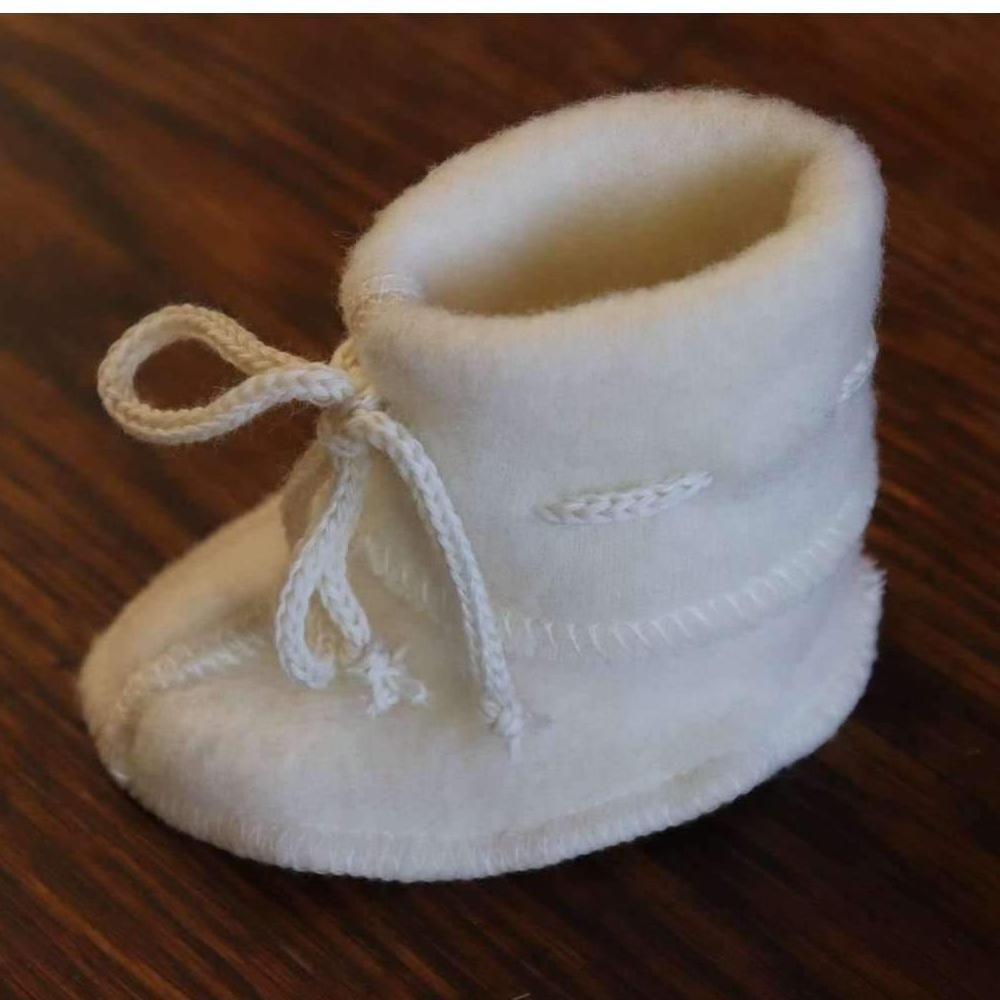 Engel Fleecy Baby Bootie - Natural