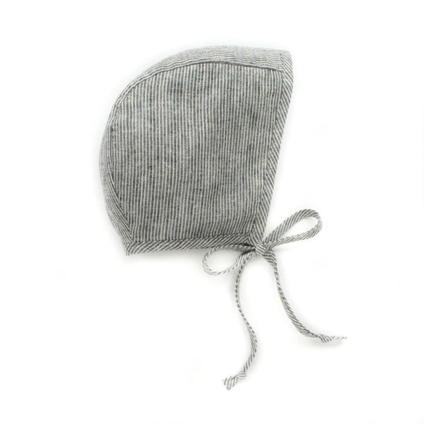 Briar Handmade Natural Stripe Bonnet