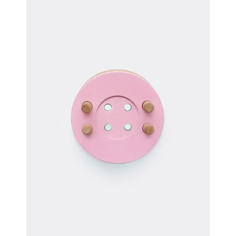 Button Pom Maker - Baby Pink