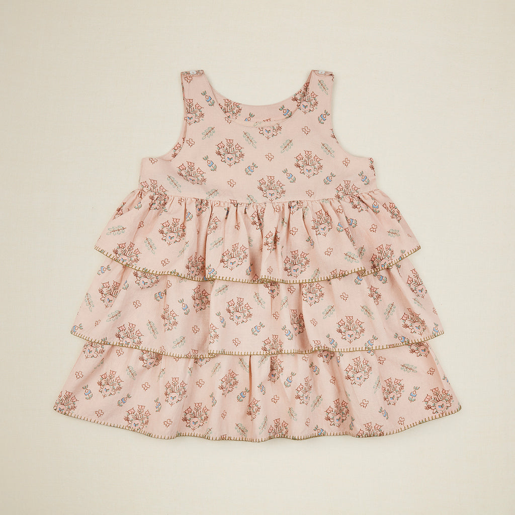 Camille Overdress - Pink Quilt