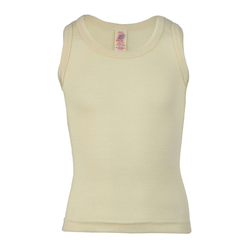 Engel Organic Wool Singlet - Natural
