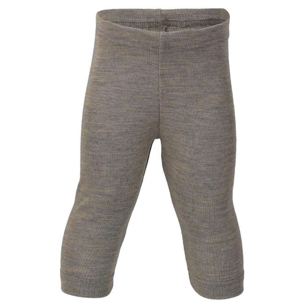 Engel Wool/Silk Baby & Small Child Leggings (3m - 5y) - Walnut