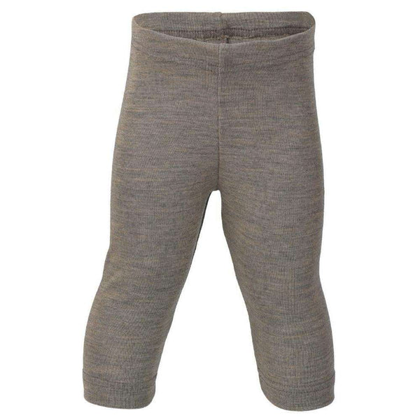 Engel Wool/Silk Baby & Toddler Leggings (3m - 24m) - Walnut