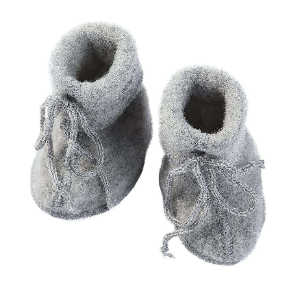 Engel Fleecy Baby Bootie - Grey