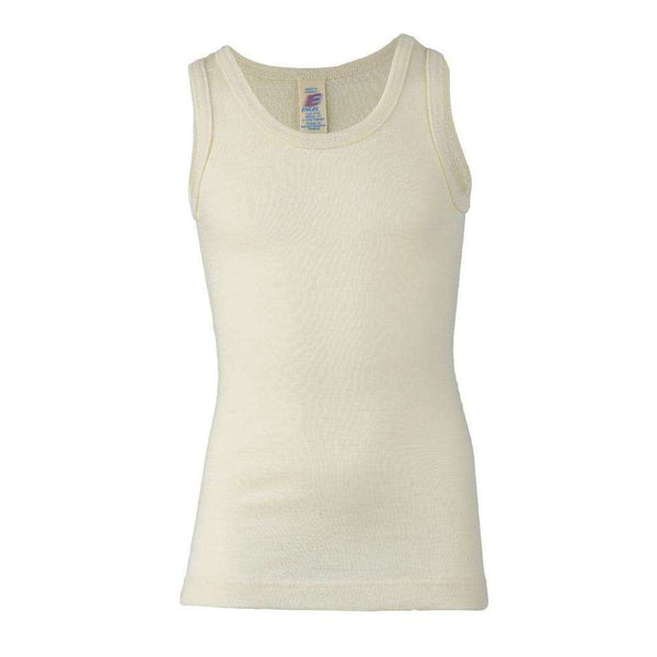 Engel Organic Wool/Silk Singlet - Natural