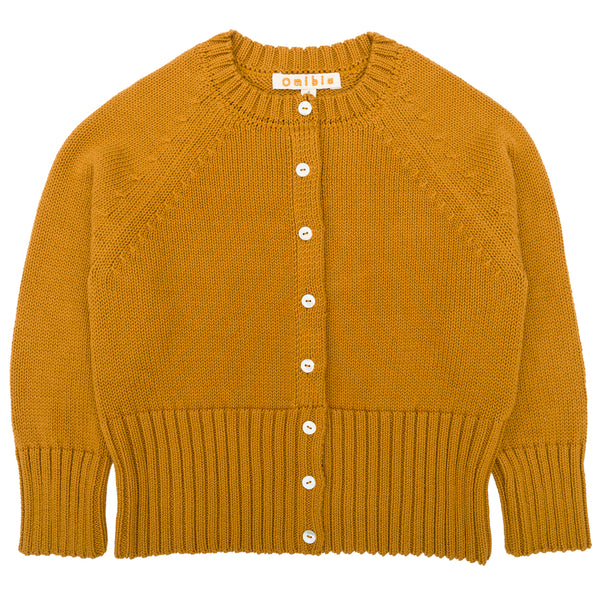 Holly Cardigan - Mustard