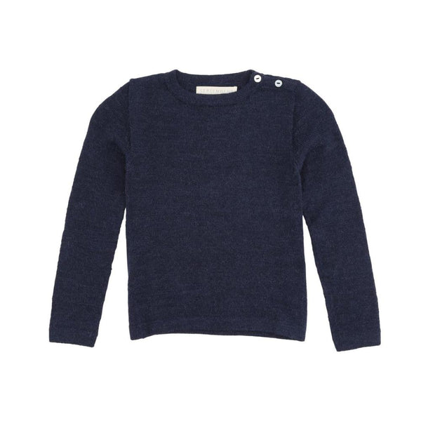 Septembers Kas Alpaca Jumper - Navy