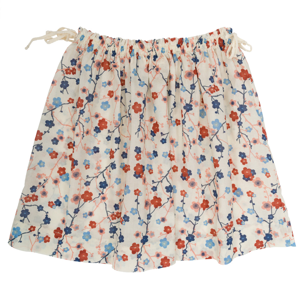 Liza Skirt - Cherry Flower