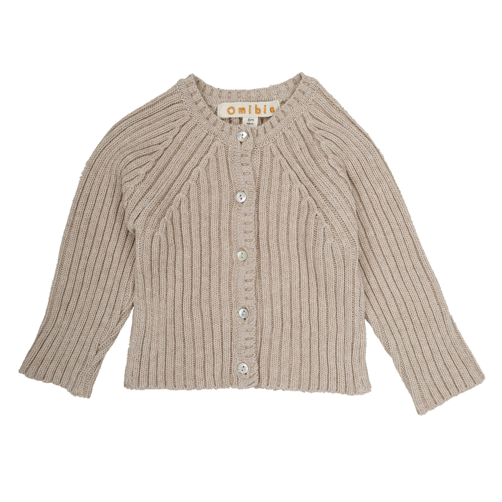 Monet Cardigan - Oat