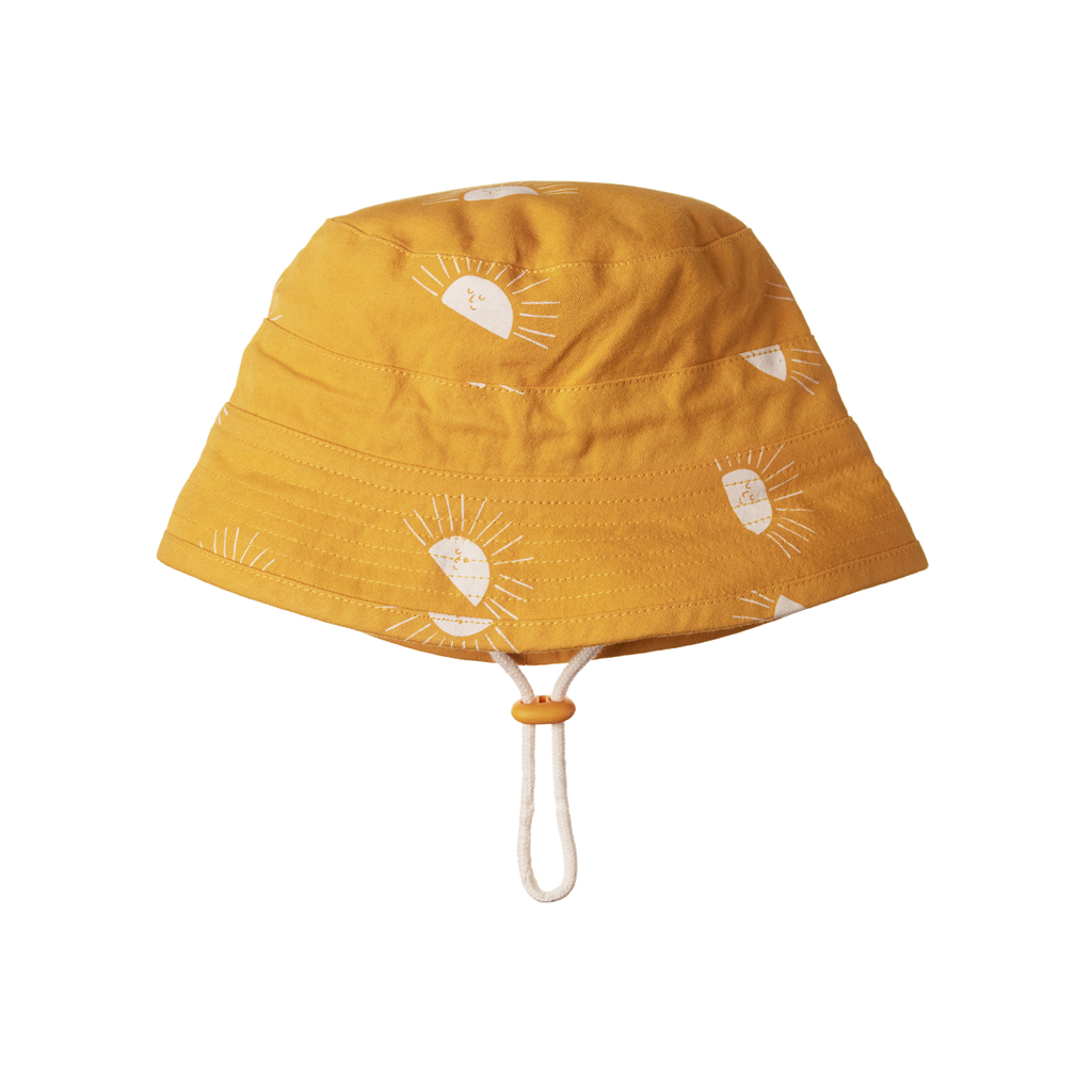 Bucket Sunhat - Sunrise Honey Print