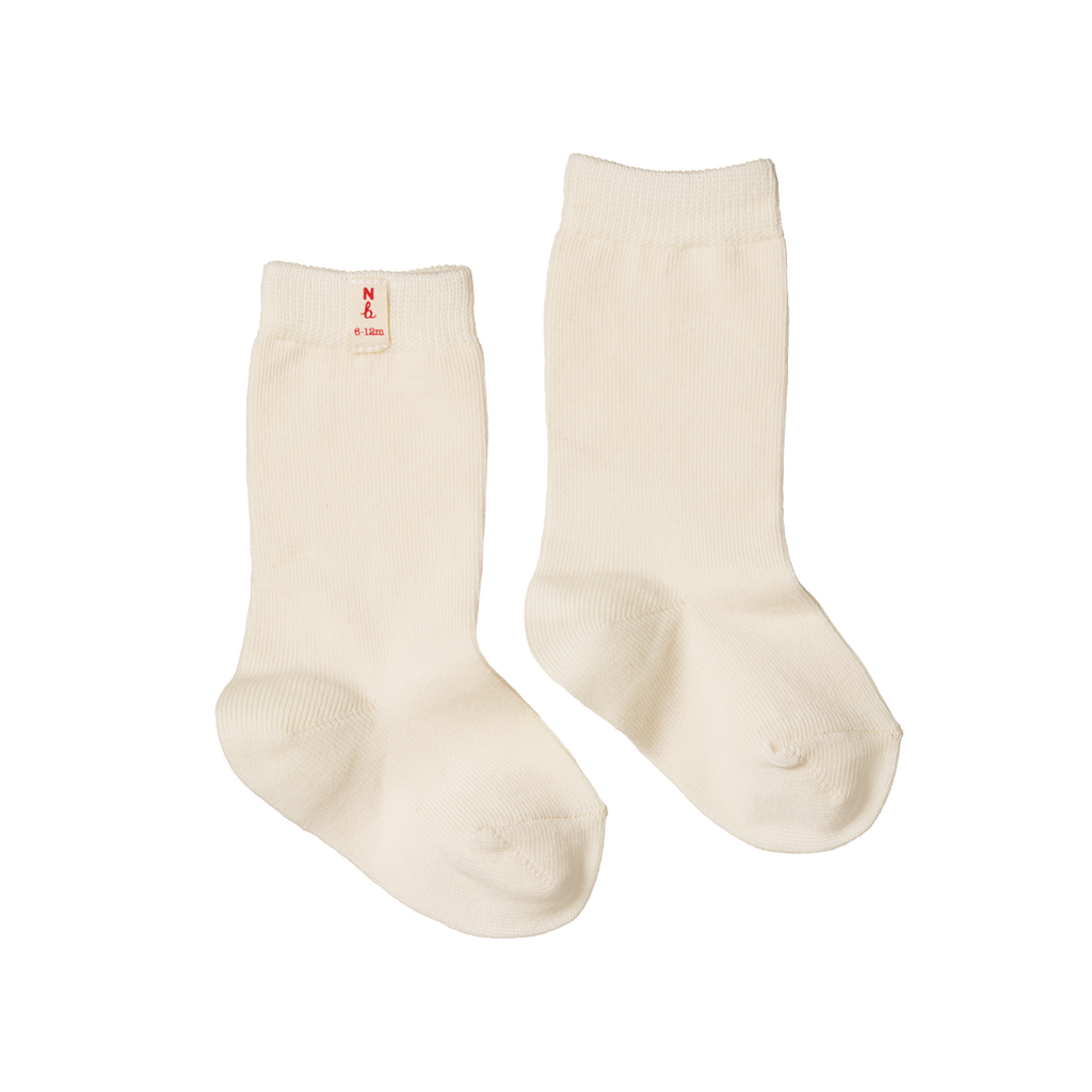 Organic Cotton Socks - Natural