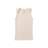 Organic Cotton Singlet - Natural