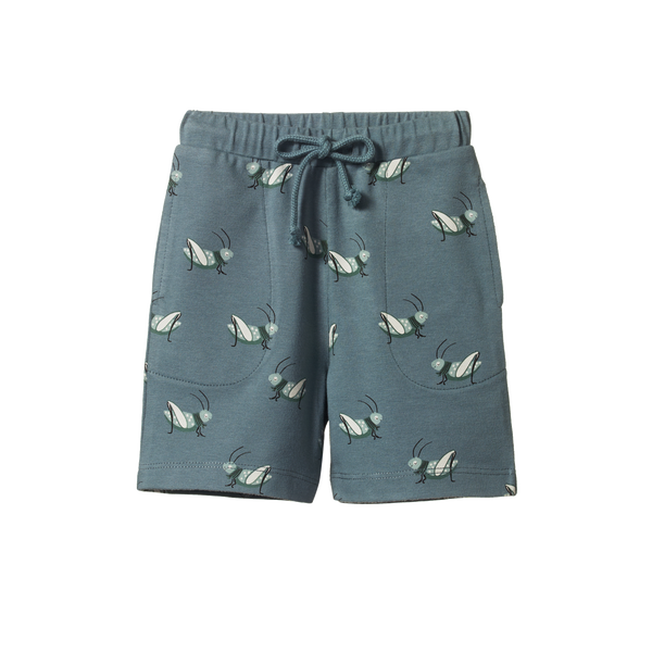 Jimmy Shorts - Grasshopper Spring Print