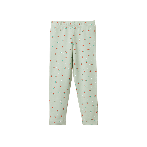 Organic Cotton Leggings - Posey Blossom Print