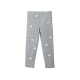 Organic Cotton Leggings - Sunrise Grey Marl Print