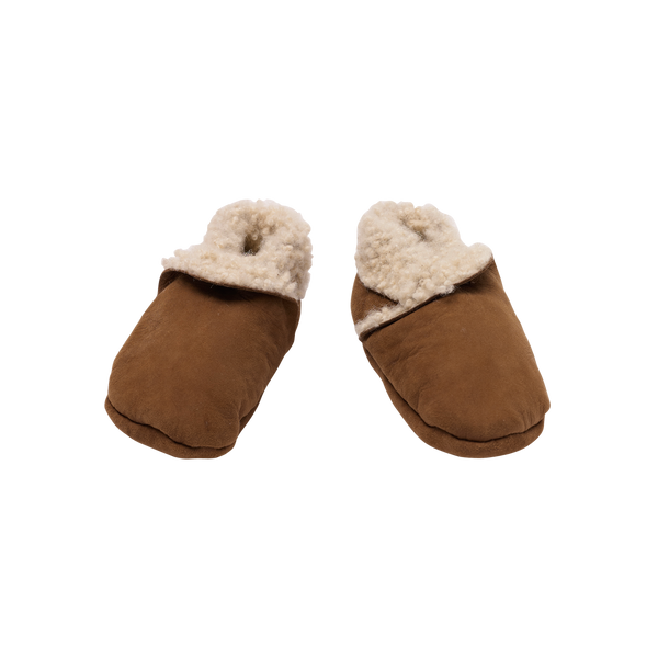 Lambskin Booties - Cinnamon