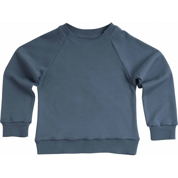 Organic Cotton Jumper - Steel Blue