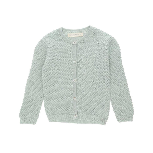 Septembers Pera Alpaca Cardigan - Mint