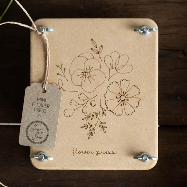 Sow n Sow Flower Press 'Posy' Mini