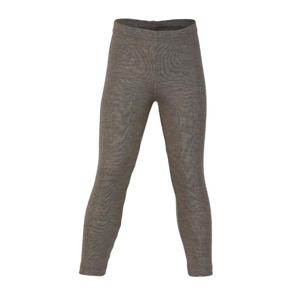 Engel Wool/Silk Child Leggings (1y-10y) - Walnut
