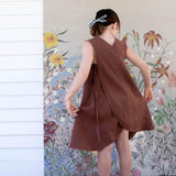 Soor Ploom Willow Dress - Terracotta
