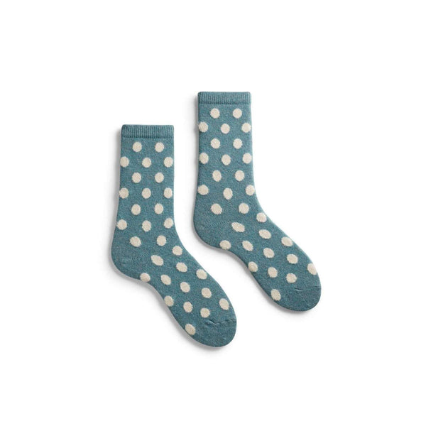 Lisa b. Women's Classic Dot Socks - Mineral